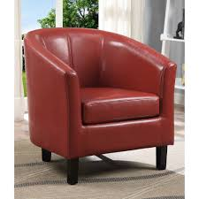 Leather Club Chairs For Sale Simpli Home Austin Tub Chair Walmart Com