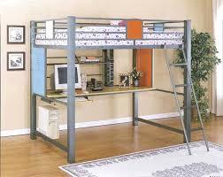 full bed loft with desk u2013 plfixtures info