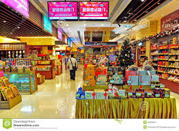 seasonal decorations supermarket with seasonal decor editorial photo image 28390061