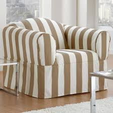 Striped Slipcovers For Sofas Decorating Captivating Sofa Design Using Surefit Matelasse Damask