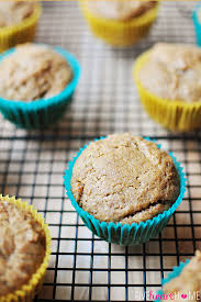 dairy free egg free spiced applesauce muffins or first