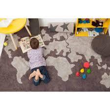 tapis de chambre enfant tapis pour chambre fille tapis au crochet tapis et gris