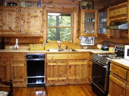 log cabin kitchens cabinets u2014 indoor outdoor homes log cabin