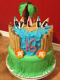 Luau Cake Decorations Sugar Love Cake Design Hawaiian Luau