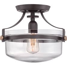 Semi Flush Kitchen Island Lighting Update Your Home Decor With This Beautiful Glass Semi Flush Mount