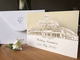 wedding invitations liverpool sefton park palm house wedding invitation liverpool wedding