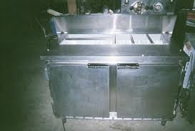 Used Sandwich Prep Table by Jim S Used Restaurant Equipment Refrigeration Beverage Air 48 In