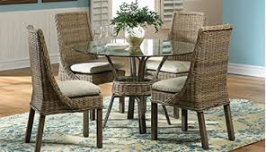 Wicker Dining Room Chairs Indoor Hospitality Rattan Wicker Island Style Furniture Distributing