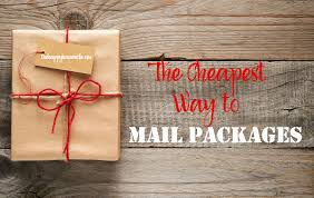cheapest way to mail packages the happy housewife frugal living