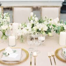 white wedding classic wedding table decorations 5986
