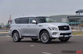 nissan infiniti 2015 2015 infiniti qx80 review video performancedrive
