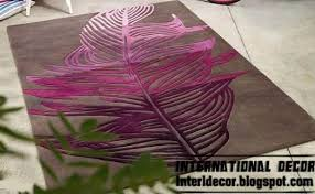 Modern Purple Rugs Contemporary Rug Styles Modern Rugs Models For Every Rooms