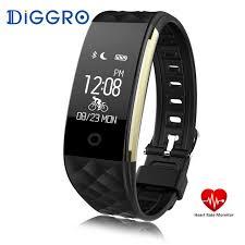 activity sleep tracker bracelet images Diggro s2 smart bracelet heart rate monitor smart band fitness jpg