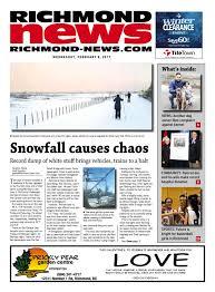nissan canada richmond bc richmond news february 8 2017 by richmond news issuu