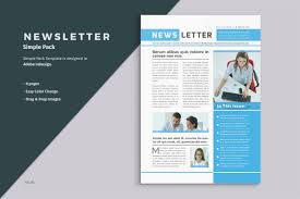 one page brochure template business newsletter template brochure templates creative market