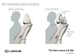 white lexus crash lexus ls 460 achieves world first in preventive safety lexus uk