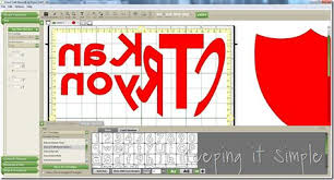 Cricut Craft Room Software - reversing letters in cricut craftroom for applique cricut ideas
