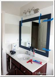 pbjstories how to build your own mirror frame u2013the easy way
