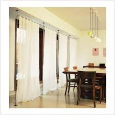 Room Divider Rod by Curtain Room Divider Hardware Decorate The House With Beautiful