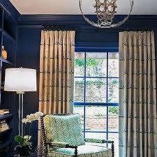 Gingham Nursery Curtains Navy Nursery Curtains Design Ideas