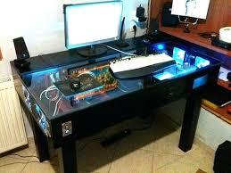 Best Desks For Gaming Computer Desk For Gamers Modern L Shaped Gaming Station Best