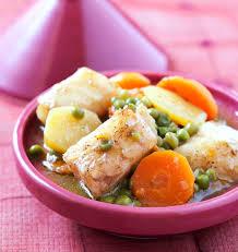 cuisine cabillaud tajine de cabillaud aux légumes les meilleures recettes de