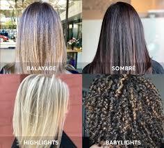 the latest hair colour techniques do you speak hair color hair color terms you need to know