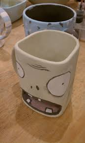 sweet plants vs zombies mug i painted gaming
