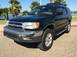 toyota 4wd 1999 toyota 4runner trd 5spd 4x4 supercharged 4wd manual used for