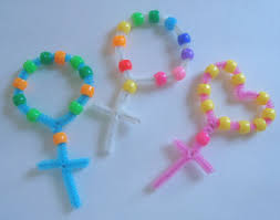 rosary for kids easy rosary craft for kids