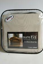 Sure Fit Twill Supreme Chair Slipcover Twill Armchair Slipcovers Ebay