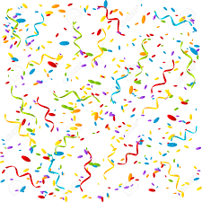 party confetti party background with color confetti royalty free cliparts