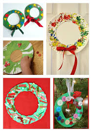 Xmas Kids Crafts - 39 christmas activities for 2 and 3 year olds wreaths crafts