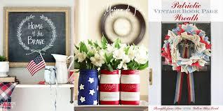 patriotic home decorations patriotic home decor ideas cu rio