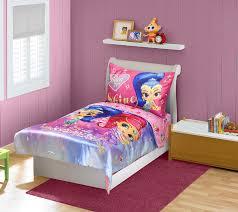 Bed Sets Amazon Com Shimmer U0026 Shine Toddler Bedding Set Pink Blue Baby