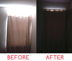 How To Sew Blackout Curtains 6 Diy No Sew Blackout U201ccurtain U201d Oh Hi Penguin Blog Design Studio