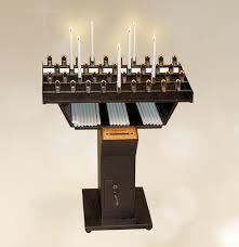candelieri votivi candeliere tradizionale per candele di cera 53 accensioni per