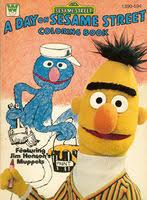 sesame street coloring books western publishing muppet wiki