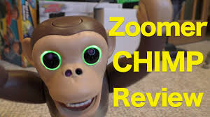 zoomer shadow zoomer chimp full review of zoomer interactive robot pet chimp