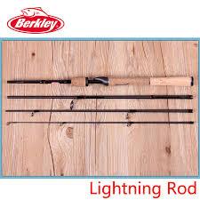 berkley lightning rod medium light berkley brand lightning rod 4 sections 1 98m spinning fishing rod