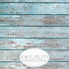 Wood Backdrop Old Distressed Aqua Blue Wood Backdrop Or Floordrop