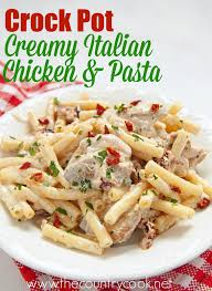 crock pot creamy italian chicken the country cook