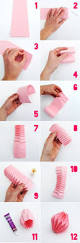 origami home decor crepe paper decorations for birthday home decor easy origami
