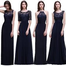 high quality long blue bridesmaid dresses buy cheap long blue