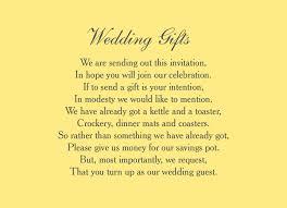 wedding gift poems poems for wedding invites gift list lading for