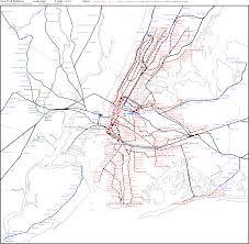 metro york map york railways scale map york york mappery