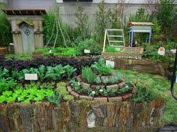 Permaculture Kitchen Garden Herb Spiral Eclectic Landscape