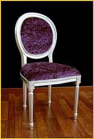 fancy purple velvet dining chair in modern furniture with