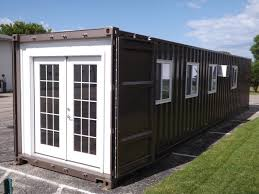 shipping containers curbed