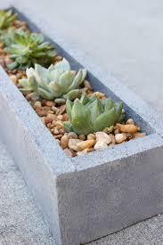 diy faux concrete planter tutorial erin spain
